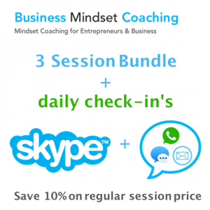 3 Coaching Session + Daily Check-in Bundle